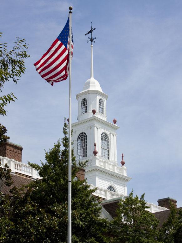 Delaware legislative hall building
