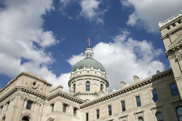Indiana statehouse building