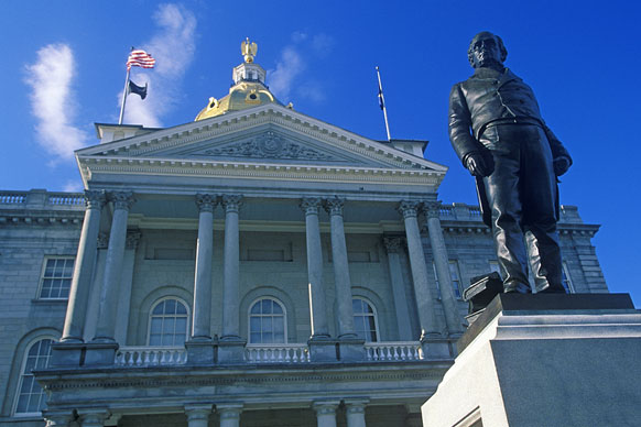 New Hampshire state house building