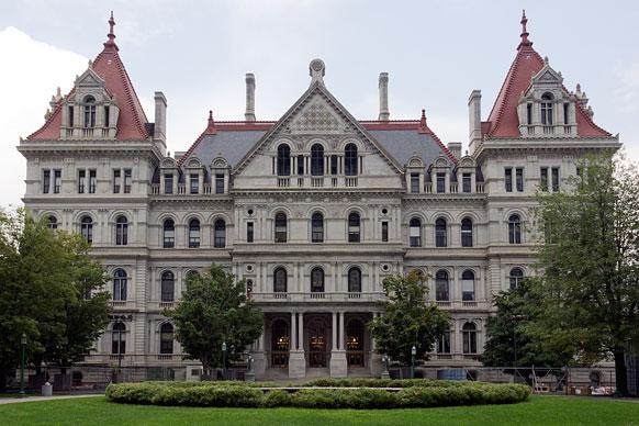 New York capitol building