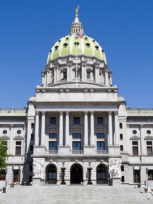 Pennsylvania State Capital Harrisburg Pa Harrisburg Map