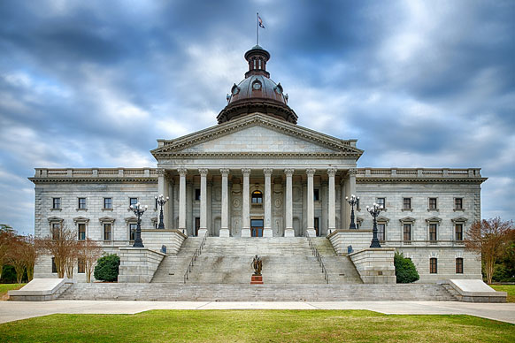 South Carolina state house building