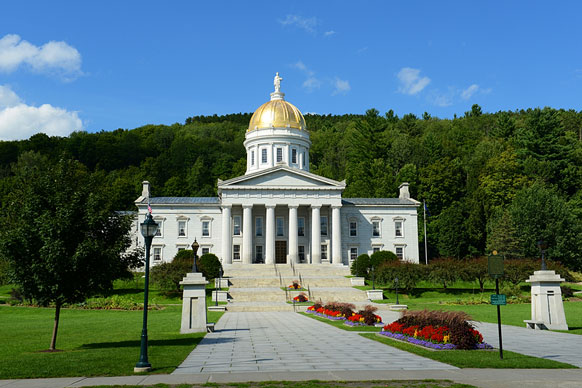 Vermont state house building